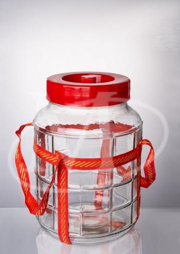 Бутыль прозрачная 9 л.