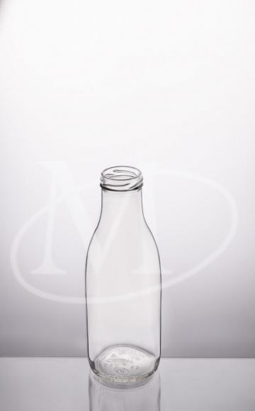 Бутылка стеклянная 0.5 (молочная)