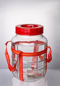 Бутыль прозрачная 18 л.